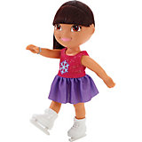 Кукла Даша-путешественница на катке, Fisher Price