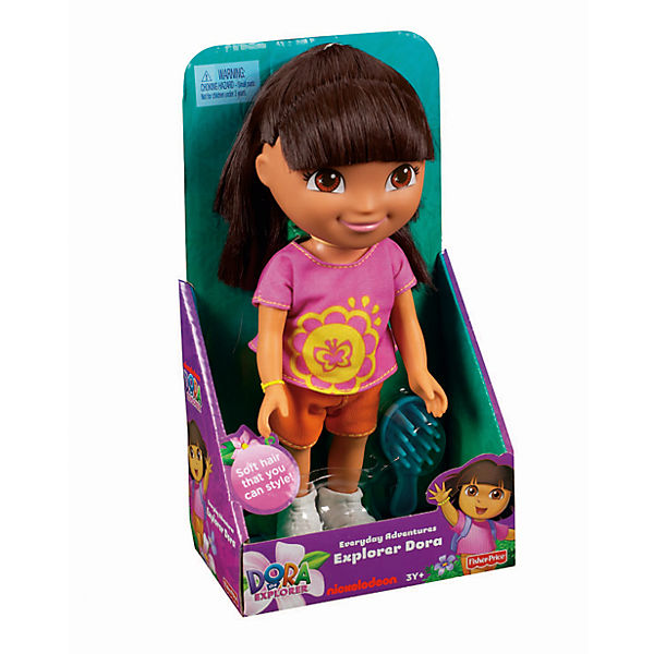 """Кукла Даша из серии """"Приключения каждый день"""", Fisher Price, Даша-путешественница"""