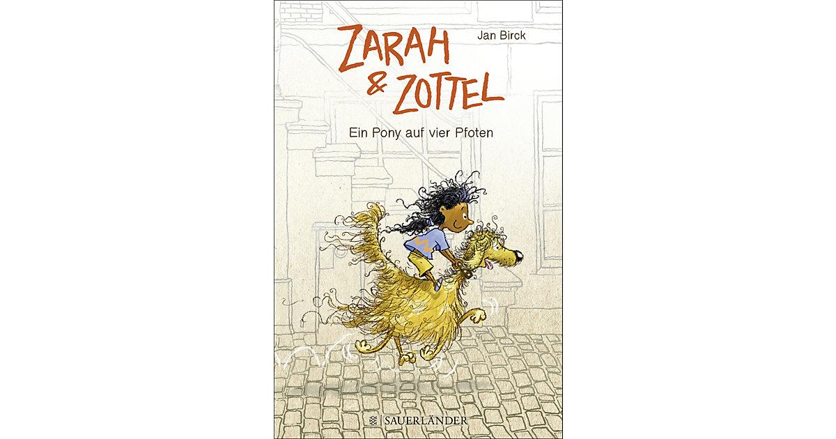 Buch - Zarah und Zottel: Ein Pony auf vier Pfoten