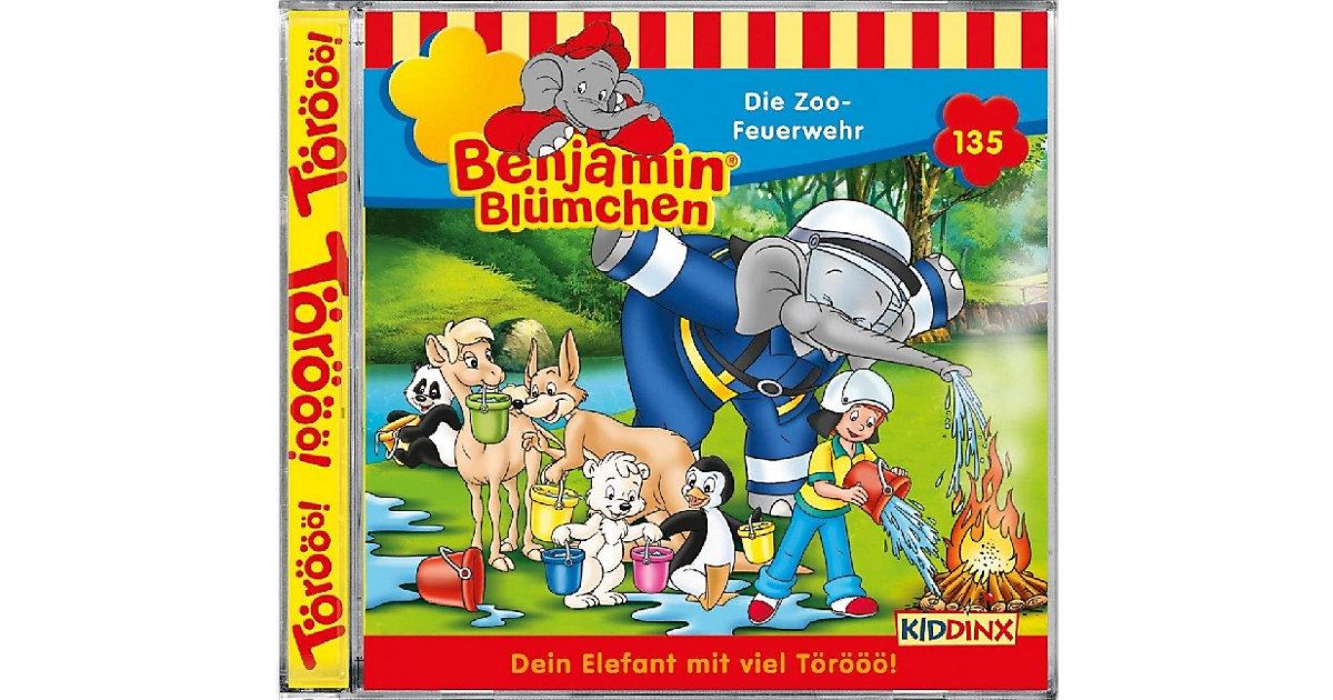 CD Benjamin Blümchen 135 - Die Zoo-Feuerwehr Hörbuch