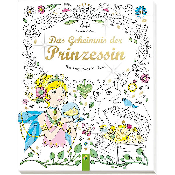 Ein magisches Malbuch: Das Geheimnis der Prinzessin, Schwager ...