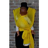 Слинг-шарф из хлопка плетеный размер l-xl, Филап, Filt, желтый