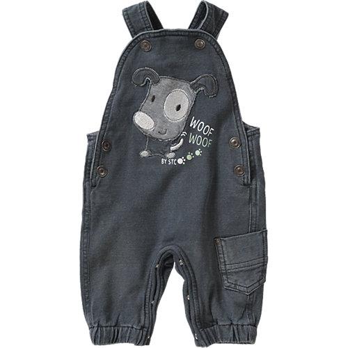 Baby Latz-Sweatjeans Gr. 62 Jungen Kinder | 04333507983214
