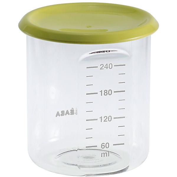 Контейнер для хранения Maxi Portion 240мл, Beaba, салатовый