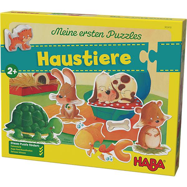 Meine ersten Puzzles - Haustiere, Haba