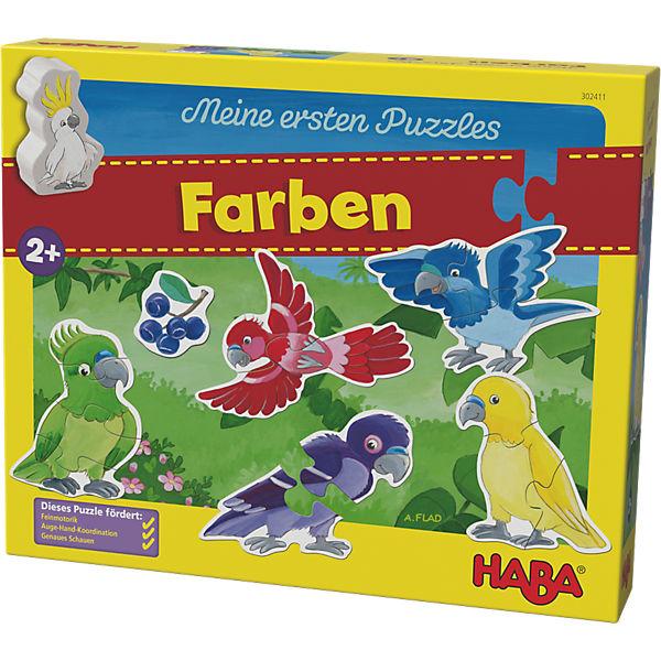 Meine ersten Puzzles - Farben, Haba