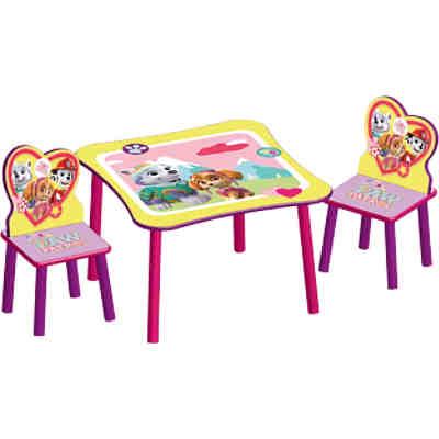kindersitzgruppe 3 tlg rosa ticaa mytoys. Black Bedroom Furniture Sets. Home Design Ideas