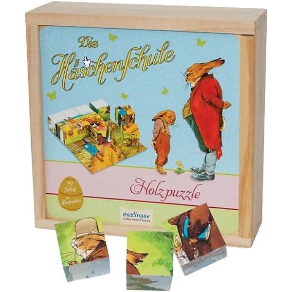 Die Häschenschule, Würfelpuzzle, Thienemann Esslinger Verlag