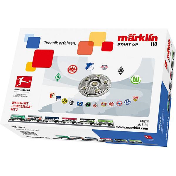 Märklin Start Up Wagen-Set Bundesliga(Set Bundesliga(Set Wagen-Set 3), Märklin Start Up 56f657