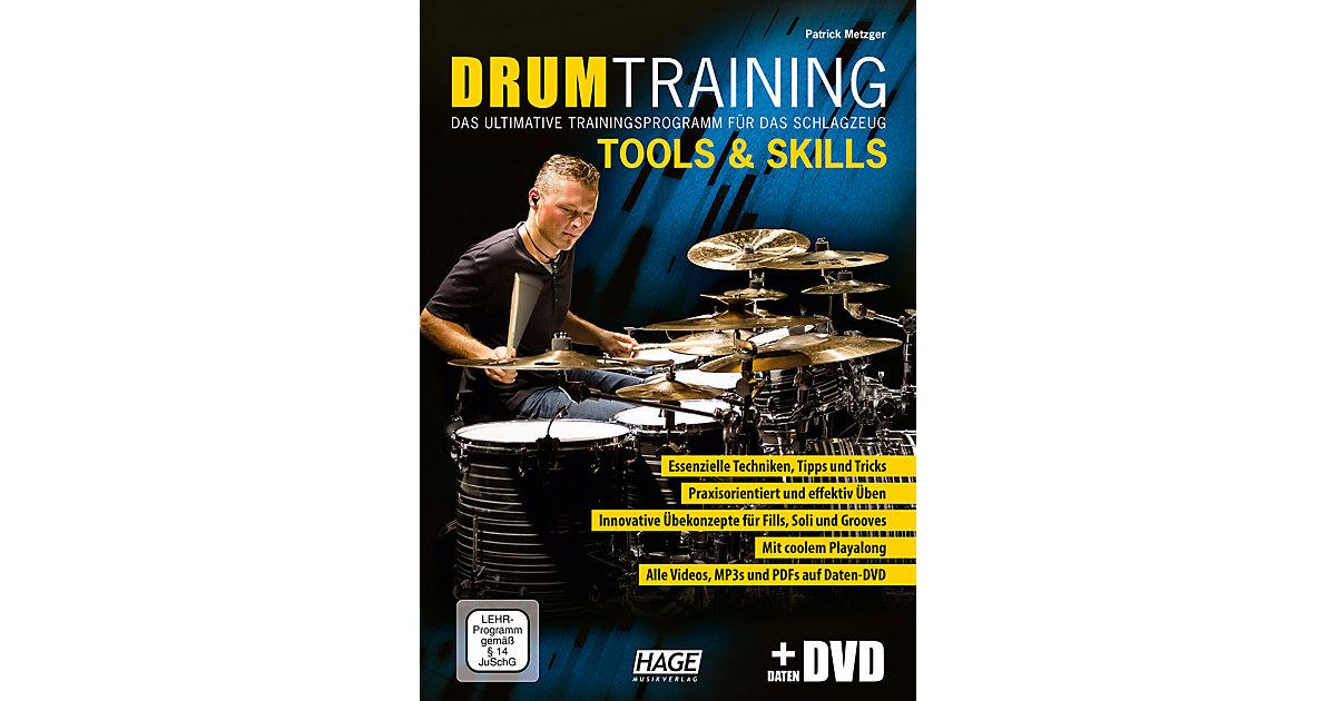 Drum Training Tools & Skills, mit Daten-DVD