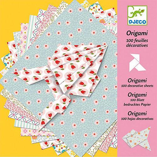 Оригами, 100 листов, DJECO от DJECO