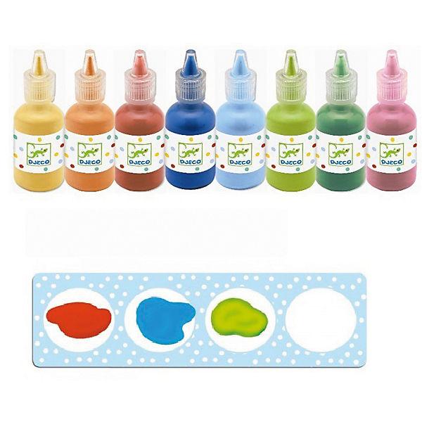 Краски для рисования пальцами, DJECO