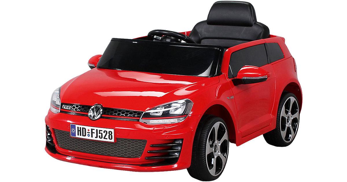 Kinder Elektroauto VW Golf Lizenziert, rot