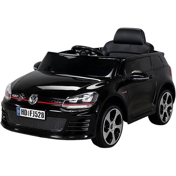 Kinder Elektroauto Vw Golf Lizenziert Schwarz Mytoys