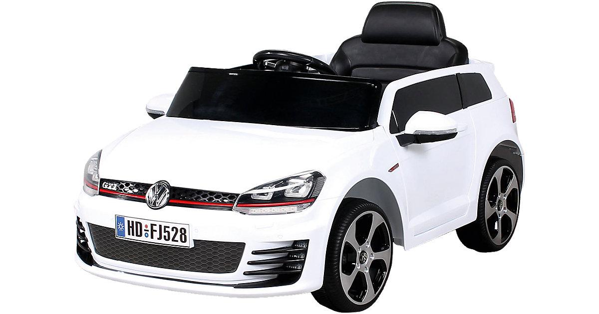 Kinder Elektroauto VW Golf Lizenziert, weiß