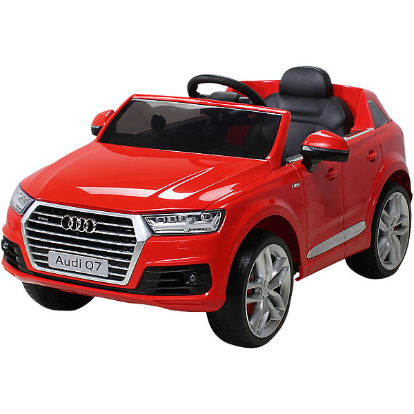 kinder elektroauto audi q7 2016 suv lizenziert rot mytoys. Black Bedroom Furniture Sets. Home Design Ideas