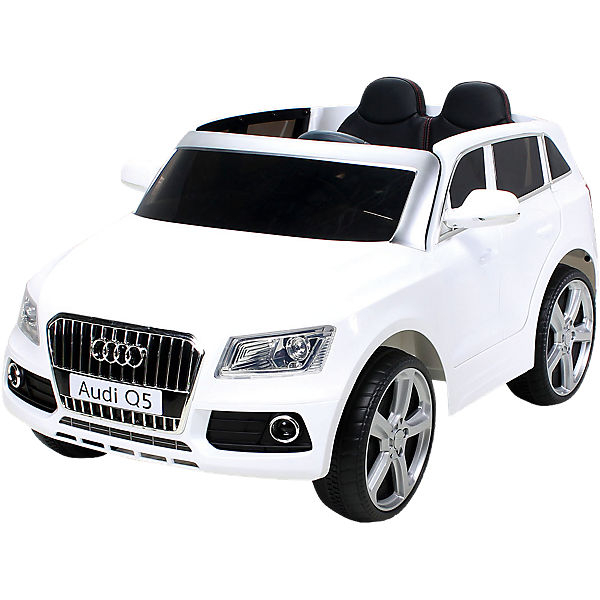 kinder elektroauto audi q5 suv lizenziert wei mytoys. Black Bedroom Furniture Sets. Home Design Ideas