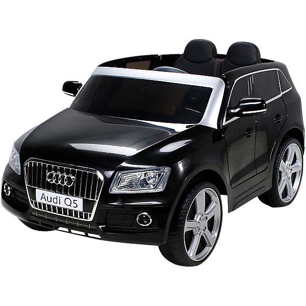 kinder elektroauto audi q5 suv lizenziert schwarz mytoys. Black Bedroom Furniture Sets. Home Design Ideas
