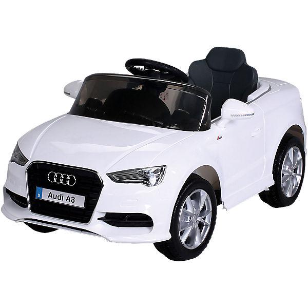 Kinder Elektroauto Audi A3 Lizenziert, weiß,