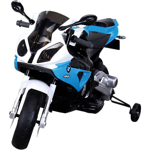Kinder Elektromotorrad BMW S 1000 RR Lizenziert JT528, blau,