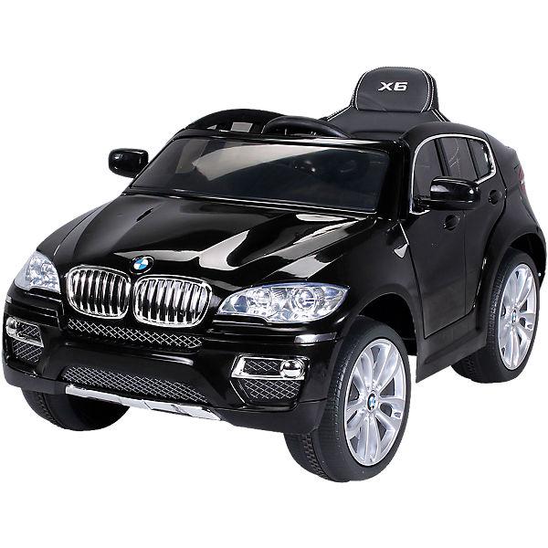Kinder Elektroauto Bmw X6 Lizenziert Schwarz Mytoys