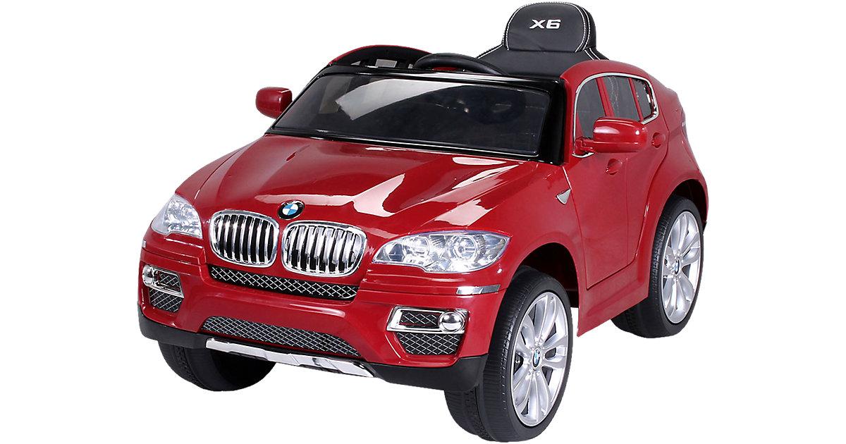 Kinder Elektroauto BMW X6 Lizenziert, rot