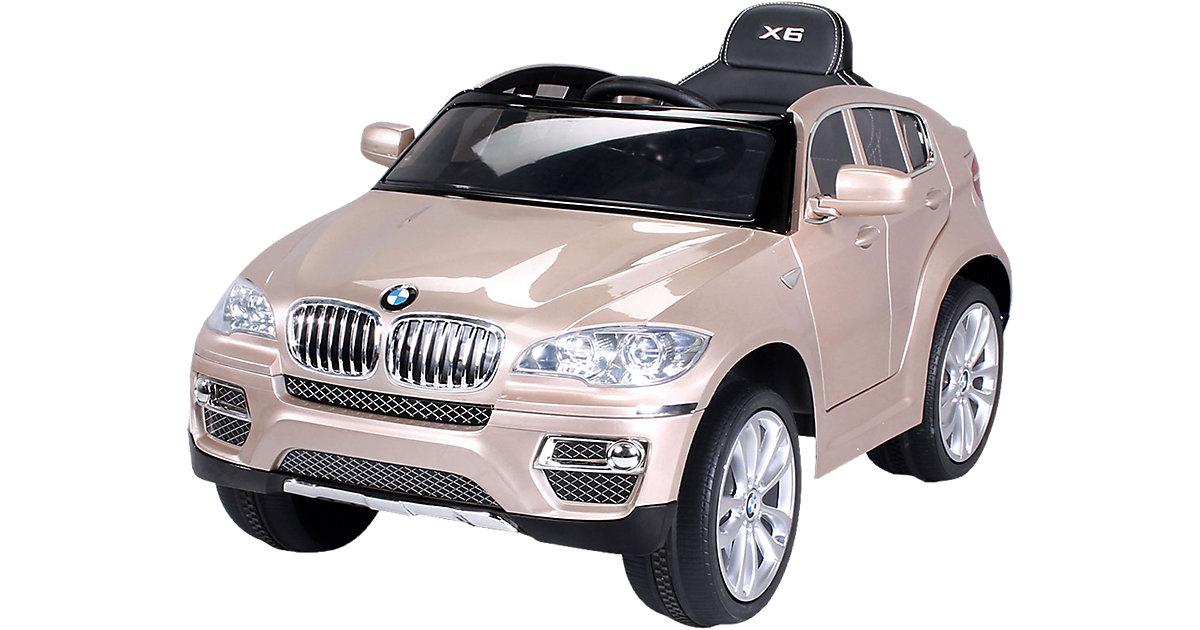 Kinder Elektroauto BMW X6 Lizenziert, champagne