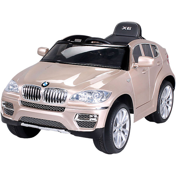 kinder elektroauto bmw x6 lizenziert champagne mytoys. Black Bedroom Furniture Sets. Home Design Ideas