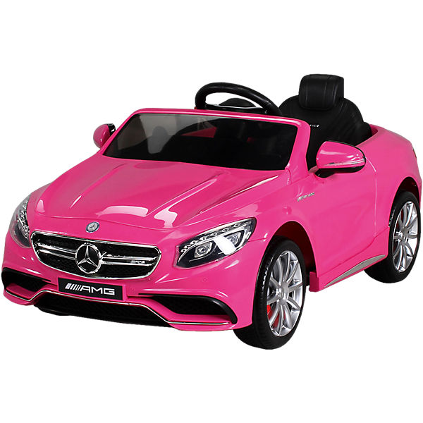 kinder elektroauto mercedes s63 amg lizenziert pink mytoys. Black Bedroom Furniture Sets. Home Design Ideas