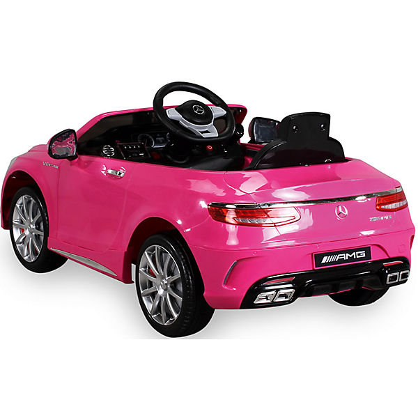 kinder elektroauto mercedes s63 amg lizenziert pink mytoys. Black Bedroom Furniture Sets. Home Design Ideas