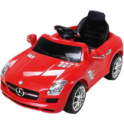 kinder elektroauto mercedes sls amg lizenziert schwarz mytoys. Black Bedroom Furniture Sets. Home Design Ideas