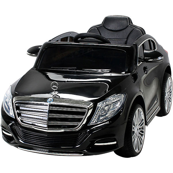 kinder elektroauto mercedes s600 lizenziert schwarz mytoys. Black Bedroom Furniture Sets. Home Design Ideas