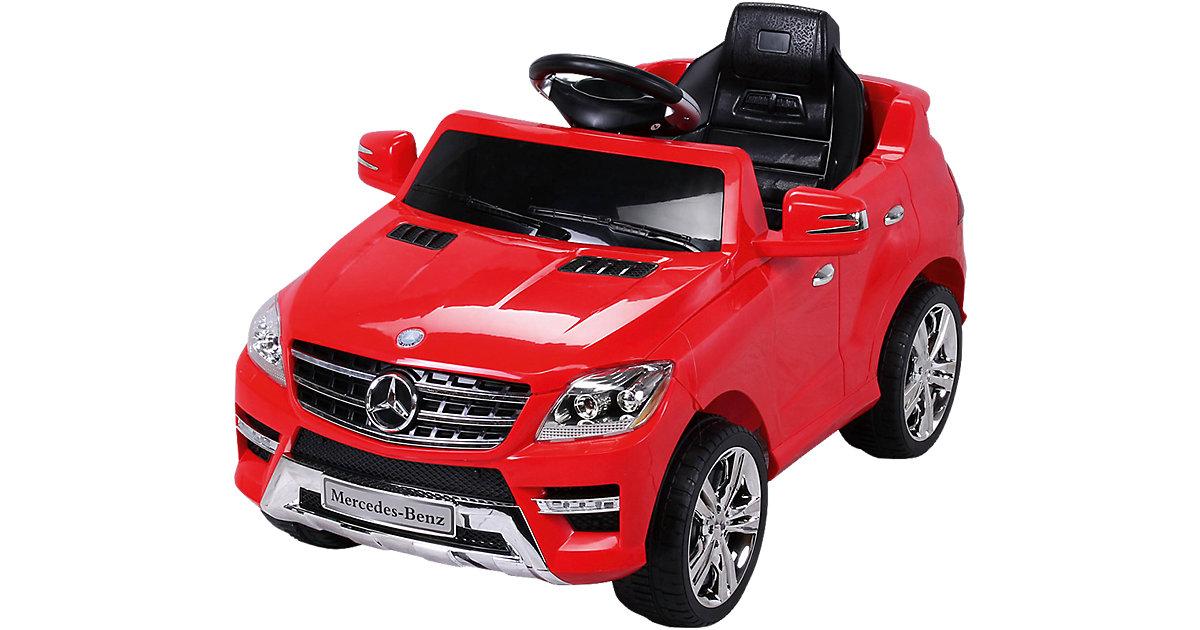 Kinder Elektroauto Mercedes ML 350 Lizenziert, rot