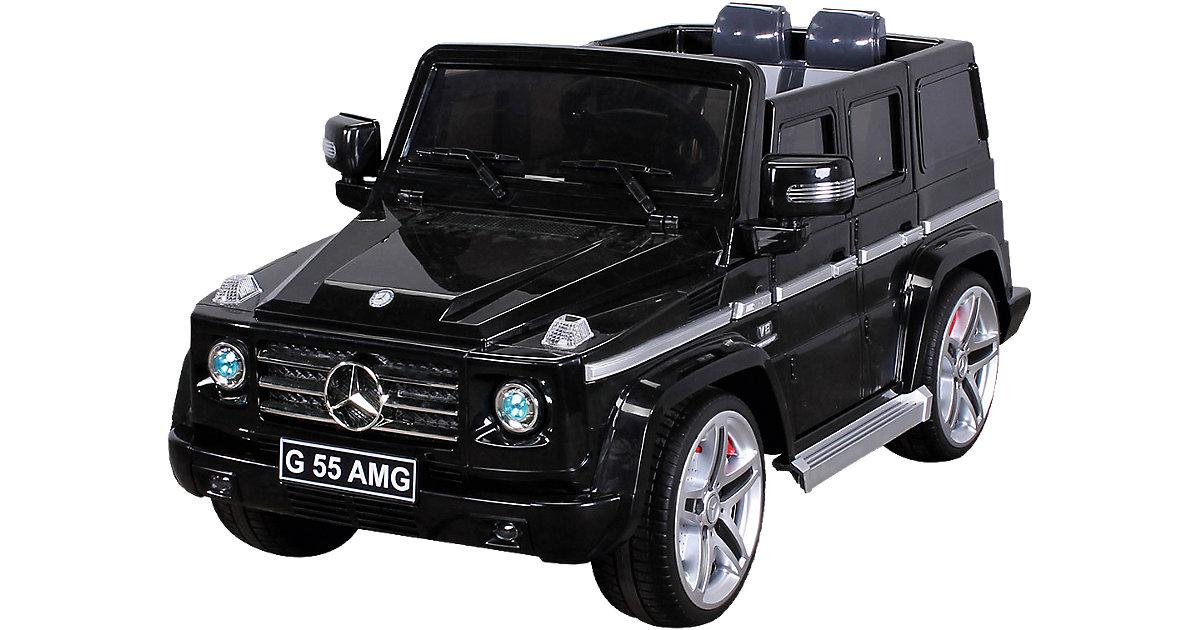 Kinder Elektroauto Mercedes G55 AMG Lizenziert, schwarz