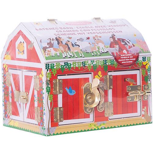 """Деревянные игрушки """"Дом с замочками"""", Melissa & Doug от Melissa & Doug"""