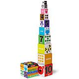 """Первые навыки """"Цифры, формы и цвета, блоки"""", Melissa & Doug"""