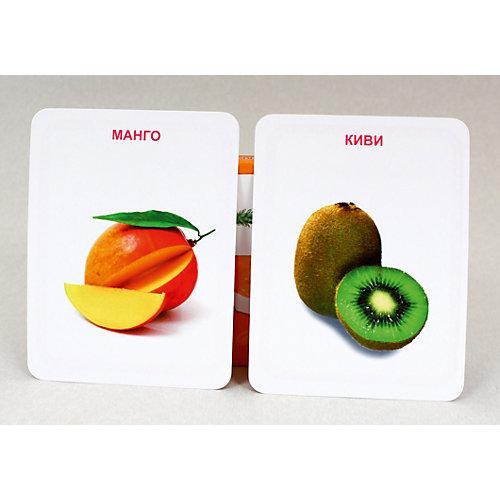 """Развивающие карточки """" Овощи, фрукты, ягоды"""" от Проф-Пресс"""