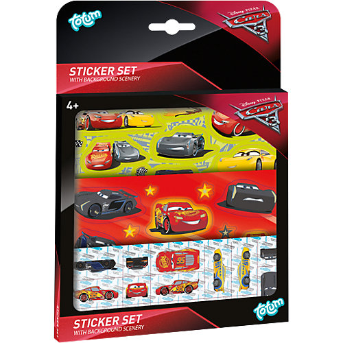 Grunewald Angebote TOTUM Cars 3 Stickerset, 50 Sticker