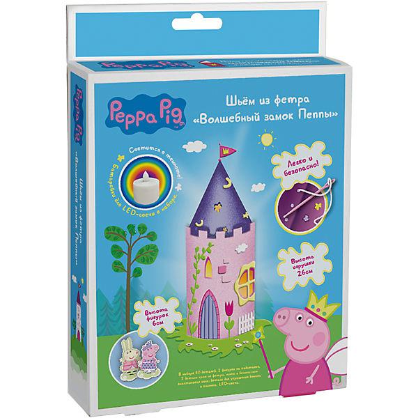 """Шьем из фетра """"Волшебный замок Пеппы"""", Peppa Pig"""