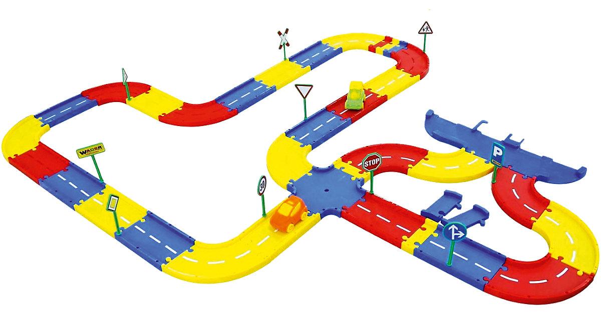 Spielstraßenergänzungsset 5 Meter WADER-Parkgaragen, 46-tlg.  Kleinkinder