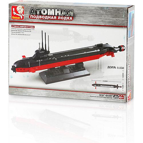 Конструктор Sluban Атомная подводная лодка, 193 детали от Sluban
