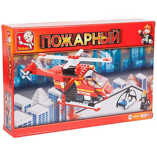 Конструктор Sluban Пожарный вертолет, 155 деталей от Sluban