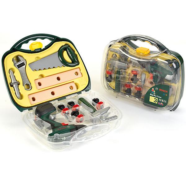 klein Bosch Akkuschrauber-Koffer mit Zubehör, klein JqZYa8