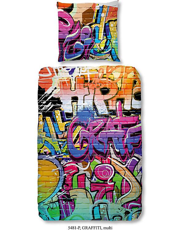 Kinderbettwäsche Grafitti Renforcé 135 X 200 Cm Mytoys