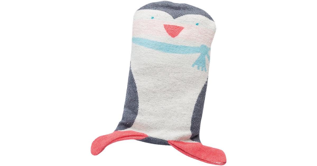 Babydecke Juwel 2in1, Pinguin - Decke in der Puppe, 70 x 90 cm