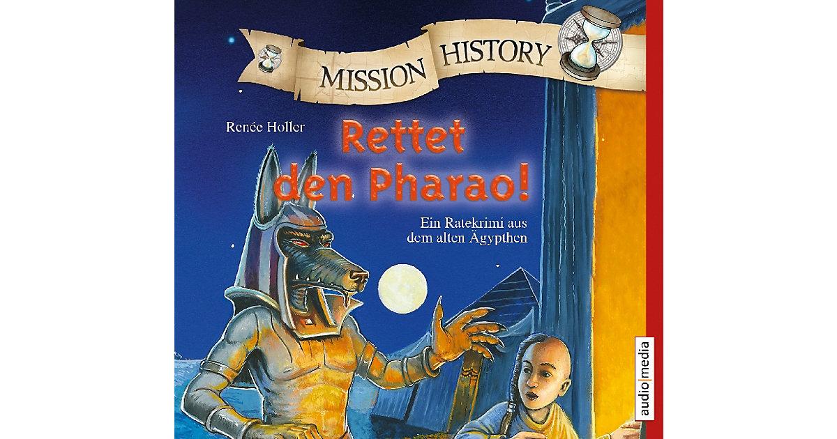 Mission History: Rettet den Pharao!, 2 Audio-CDs