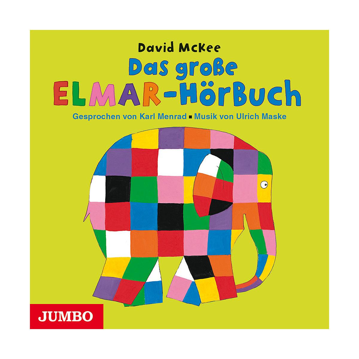 Das große Elmar-Hörbuch Audio-CD JUMBO Verlag 2rKqD