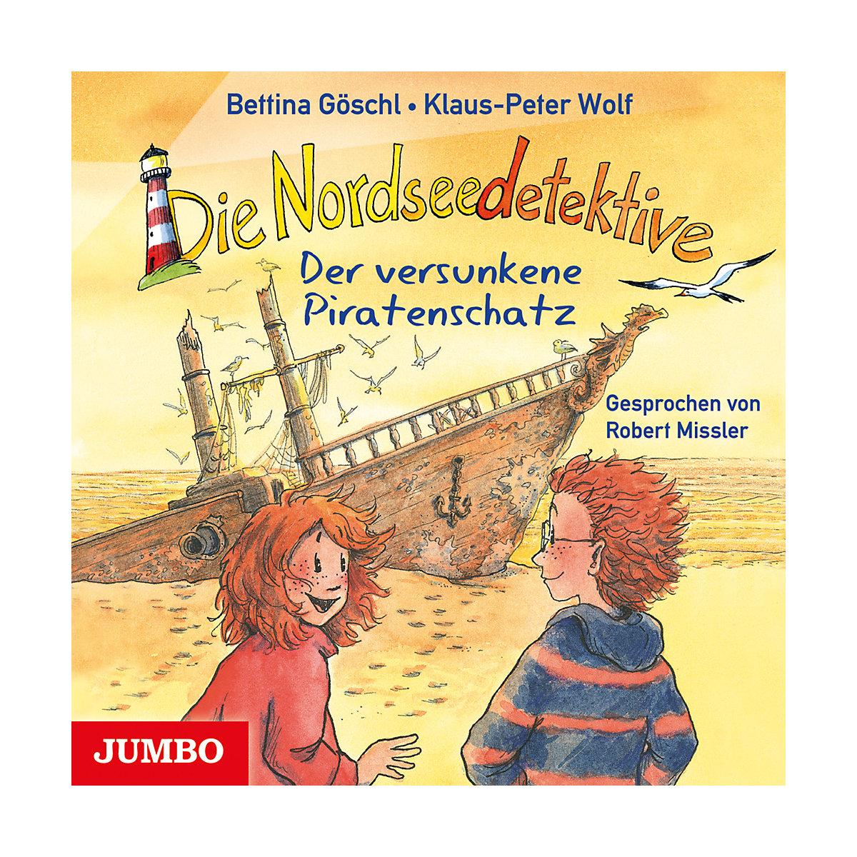 Die Nordseedetektive: Der versunkene Piratenschatz 1 Audio-CD JUMBO Verlag 728h1