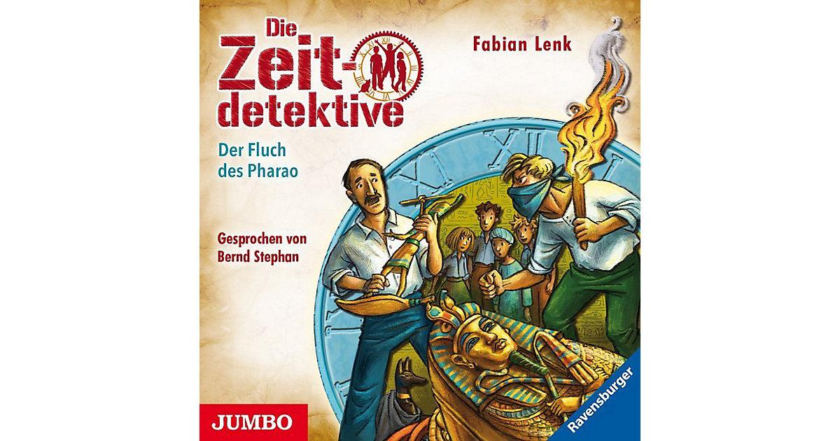 Die Zeitdetektive: Der Fluch des Pharao, 1 Audio-CD