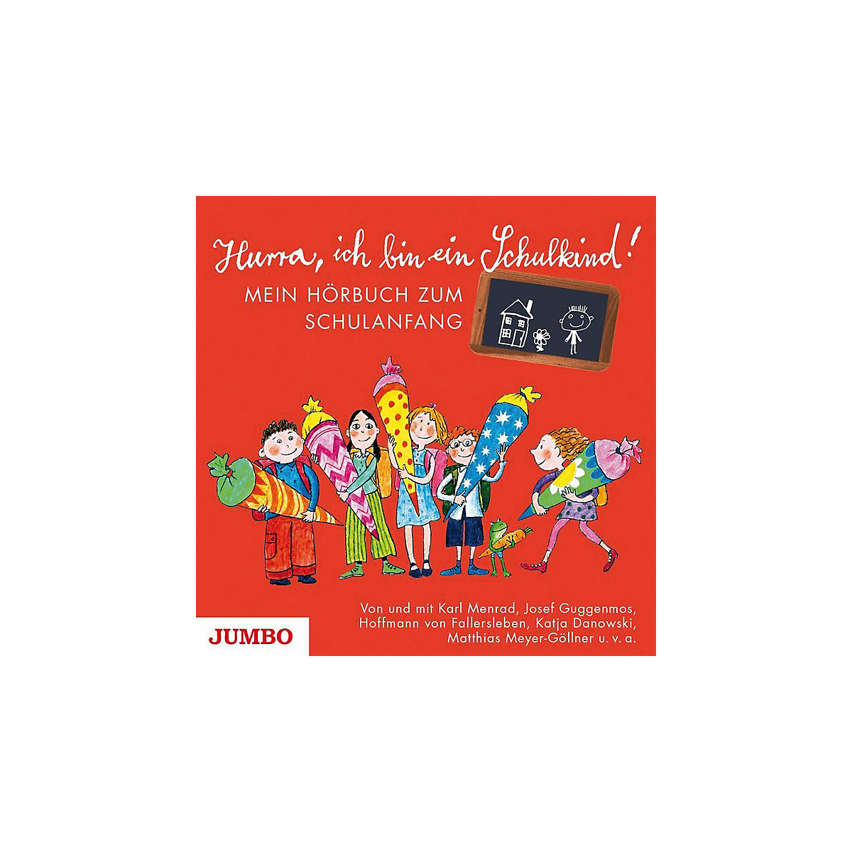 Hurra, ich bin ein Schulkind!, 1 Audio-CD, JUMBO Verlag